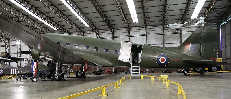 DAKOTA IV - C47 YORKSHIRE AIR MUSEUM ELVINGTON