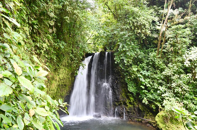 Danta Waterfall. Costa Rica - April 2019 (Arenal Observatory  Lodge).