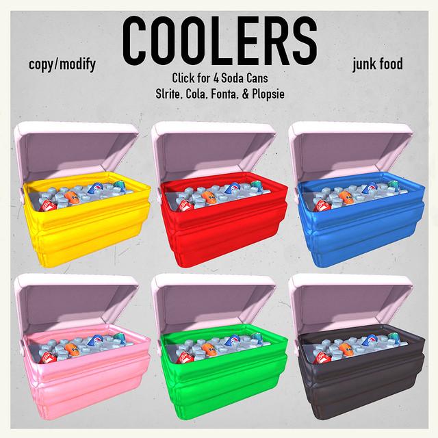Junk Food- Coolers Ad