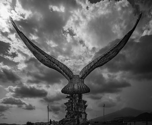 langkawi perlis malaysia eagle square bw