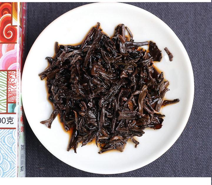 "2018 HaiWan LaoTongZhi"" Special Losse Tea Boxed 100g Puerh Shou Cha Ripe Tea"