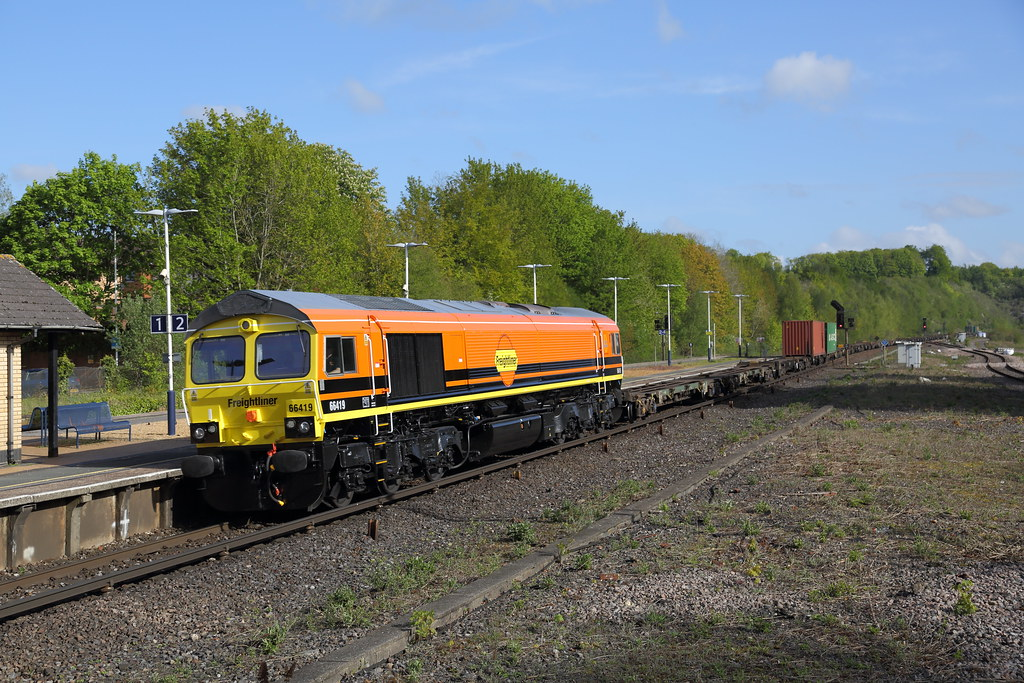 66419 at Micheldever