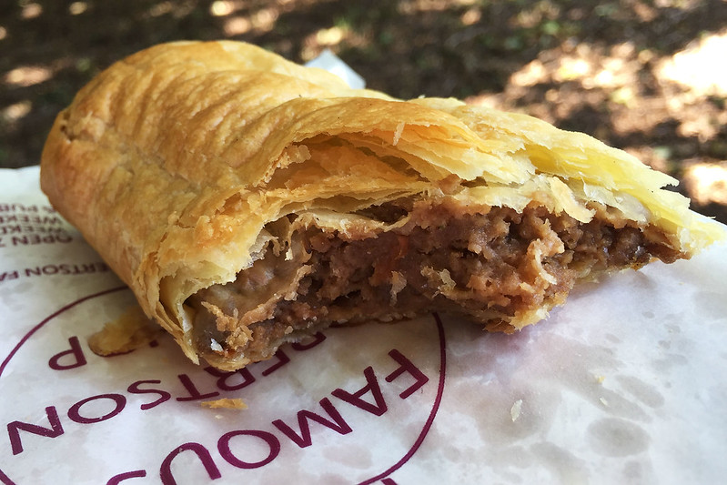 Sausage roll: Robertson Pie Shop