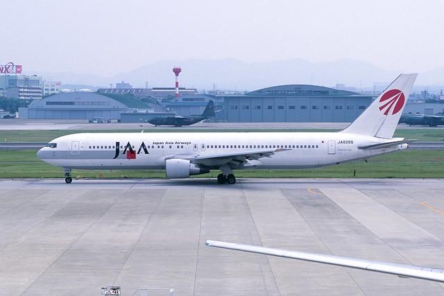 Japan Asia Airways Boeing 767-346 (JA8266/23966/191)
