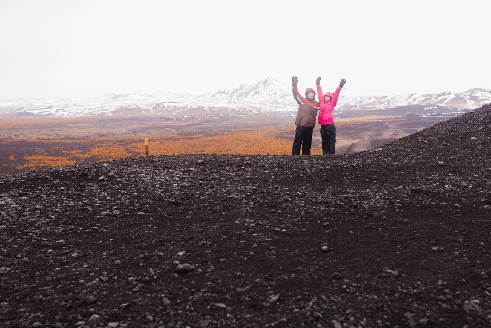 【北歐自助旅行】Day 7(克拉夫拉火山、黛提瀑布、惠爾火山、米湖溫泉)