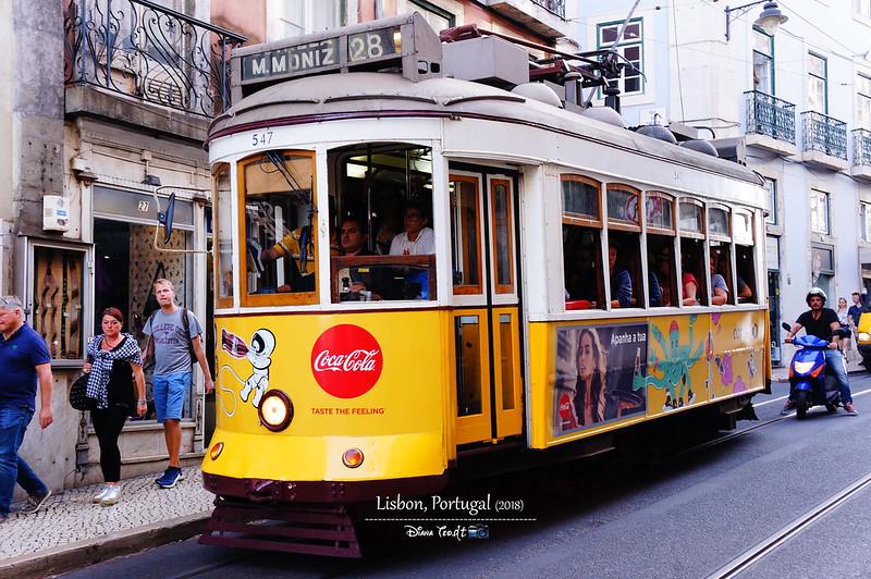 2018 Portugal Lisbon Tram 28 02