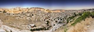 Panorama: South East Jerusalem, Israel