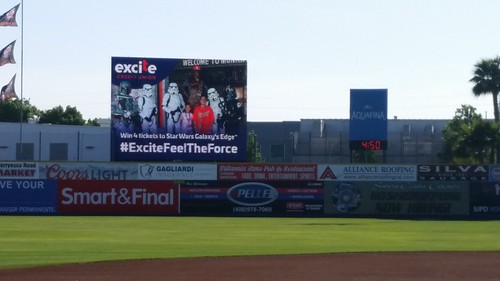Star Wars Night at the SJ Giants