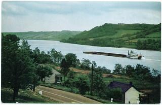 Scene on the Ohio River at Ripley, Ohio (Date Unknown)