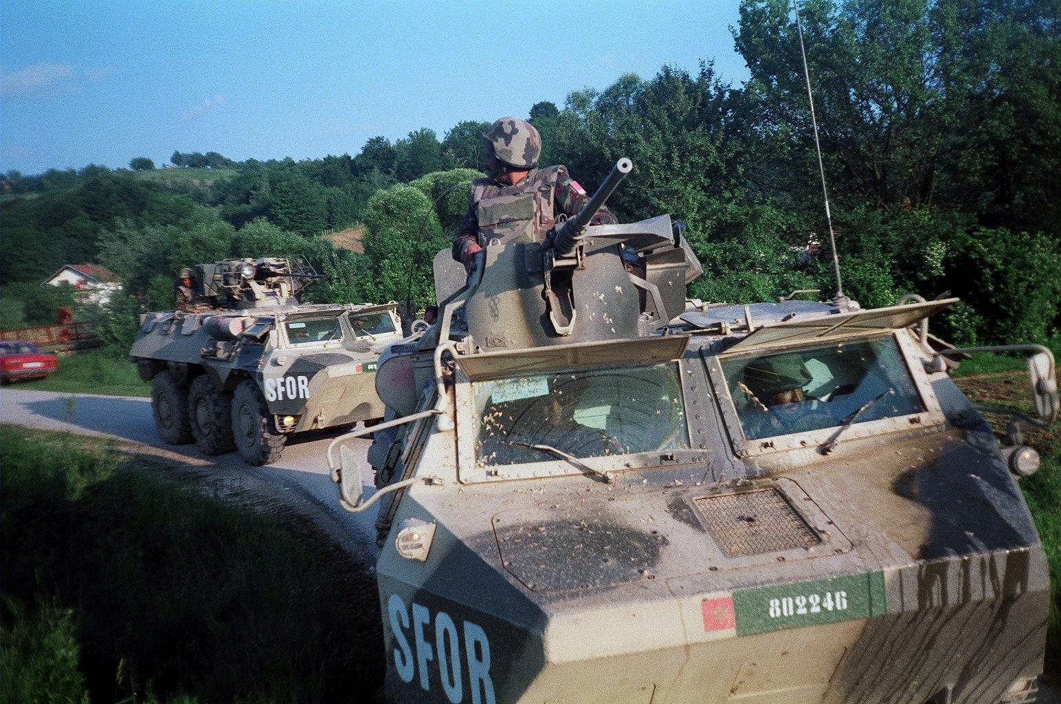 Les F.A.R. en Bosnie  IFOR, SFOR et EUFOR Althea 40810696603_2a6a09ba28_o