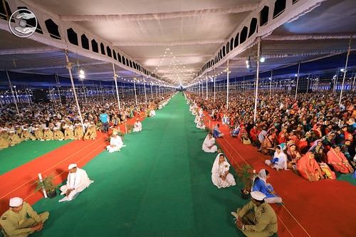 A view of Satsang Pandal