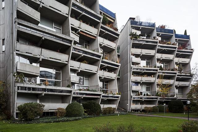 Orpheus & Eurydike residential buildings.