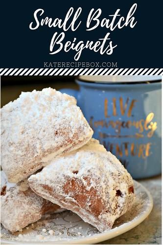 Small Batch Beignets | by katesrecipebox