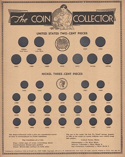 Colonial Coin & Stamp Company 2c & 3c board