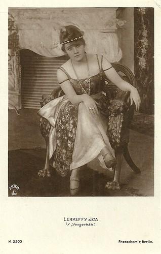 Ica Lenkeffy in Vengerkák (1917)