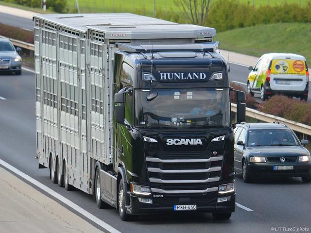 Scania S500 NG Highline Hunland (H)