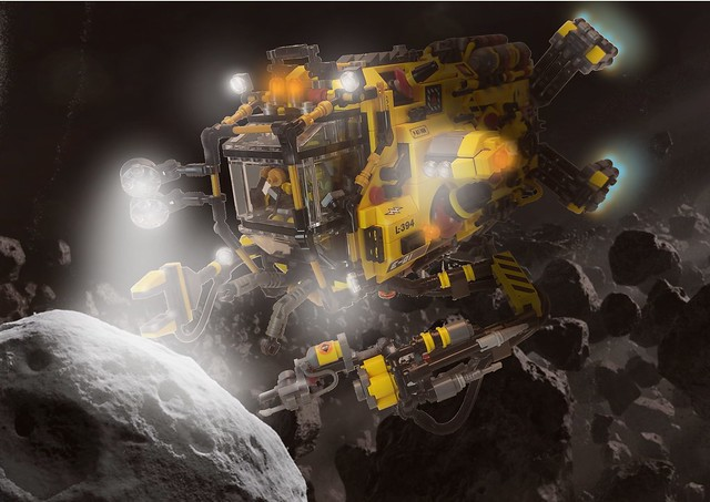 New Bedlam Industries Mining & Salvage Pod L-394