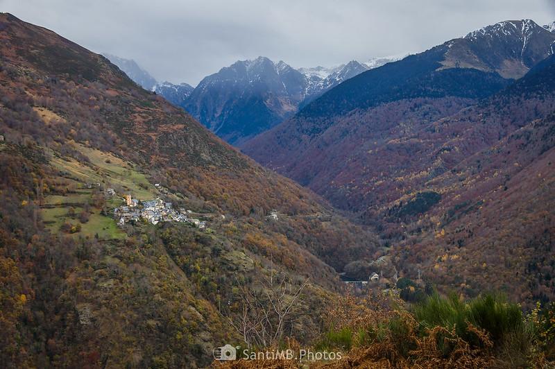 El Valle de Toran desde el Bosc de Carlac