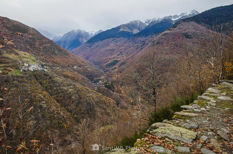 El Valle de Toran desde el Camin de Carlac