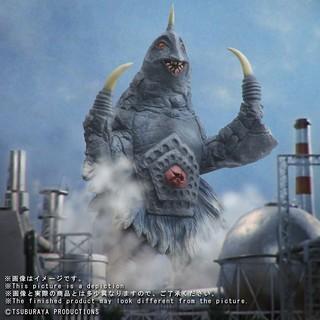 X-PLUS 《大怪獸系列 》宇宙怪獸「貝姆斯塔〈改造〉」【少年Ric限定】!大怪獣 限定商品 ベムスター(改造)