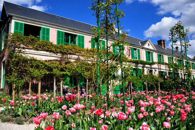 House and Garden of Claude Monet at Giverny, France