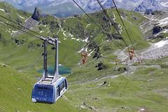 Nevšední nové lanovky v Arose a Lenzerheide