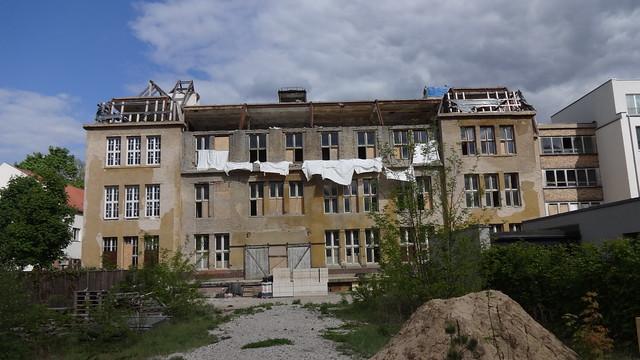 1887 Berlin Fabrikgebäude Hofbildgießerei Hermann Gladenbeck & Sohn Ahornallee 40 in 12587 Friedrichshagen