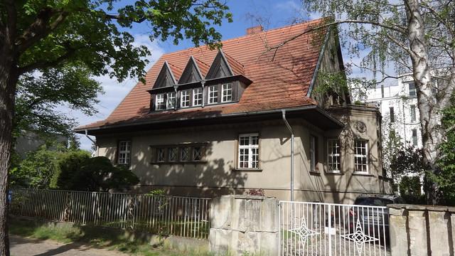 1926/27 Berlin Villa F. Willmann von Friedrich Brinckmann Ahornallee 38 in 12587 Friedrichshagen