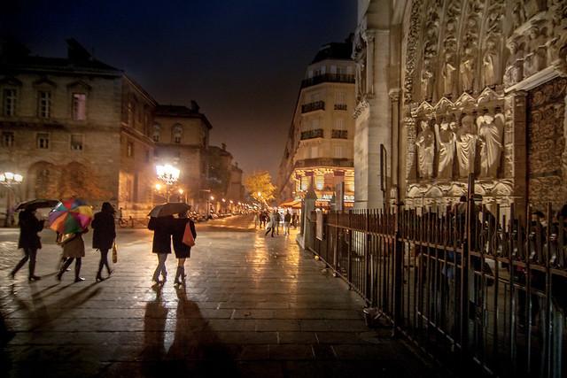 Near Notre-Dame, Paris, France