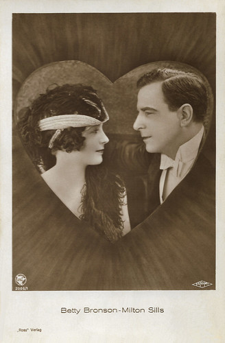 Betty Bronson and Milton Sills
