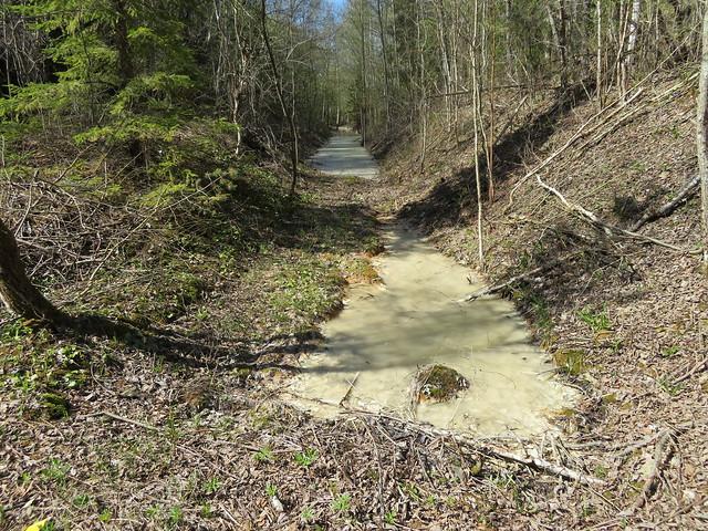 Põlevkivimaa - Küttejõu / Oil Shale mining area in Estonia