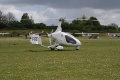 G-CIEW AutoGyro Europe Cavalon [RSUK CVLN 011] Popham 040519