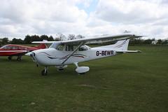 G-BEWR Reims-Cessna F172N [1613] Popham 040519