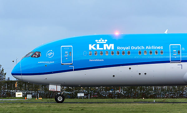 KLM B787-9 Sunflower (KLM)