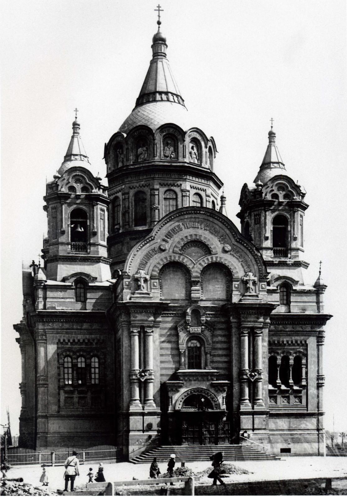 Церковь св.благоверных князей Бориса и Глеба. Калашниковская набережная