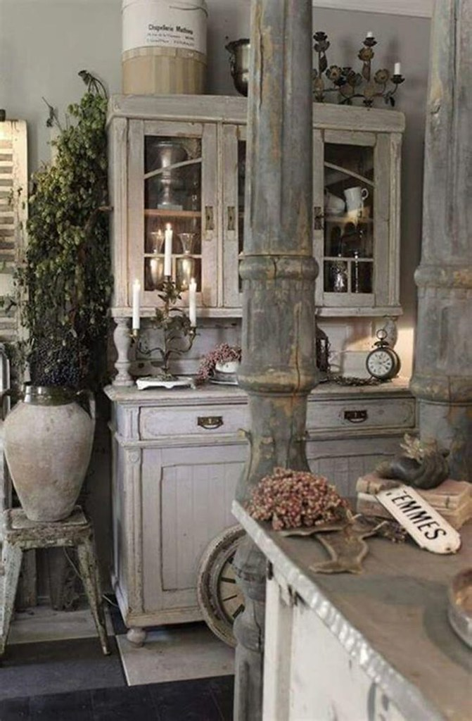 40 Amazing Shabby Chic Country Kitchen Decorating Ideas F Flickr