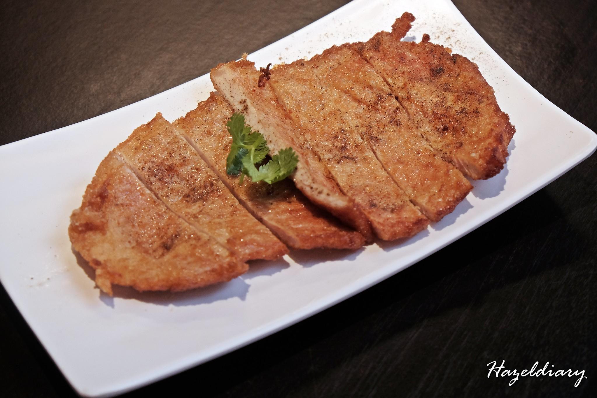Ju Hao Taiwanese noodles Platform M-pork chop