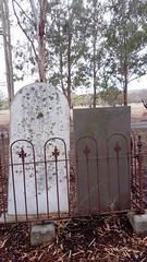 Welchford, Waye headstones, St Stephen's Cemetery, Willunga