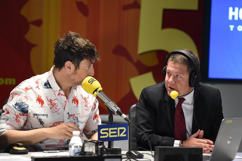 Entrevista en directo en 'Hoy por Hoy' de la cadena SER desde FENAVIN