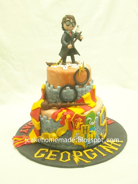 Harry Potter birthday cake 哈利波特蛋糕