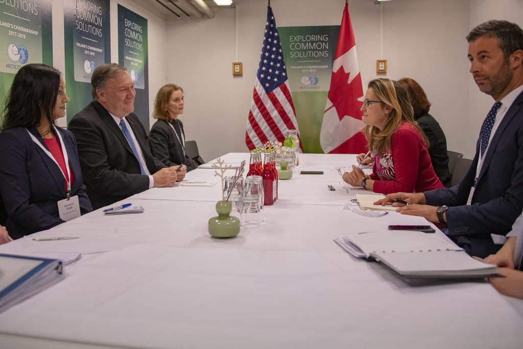 Secretary Pompeo Meets With Canadian Foreign Minister Free