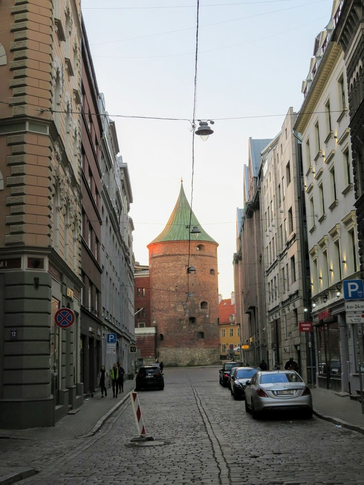 Военный музей Латвии снаружи и немного внутри