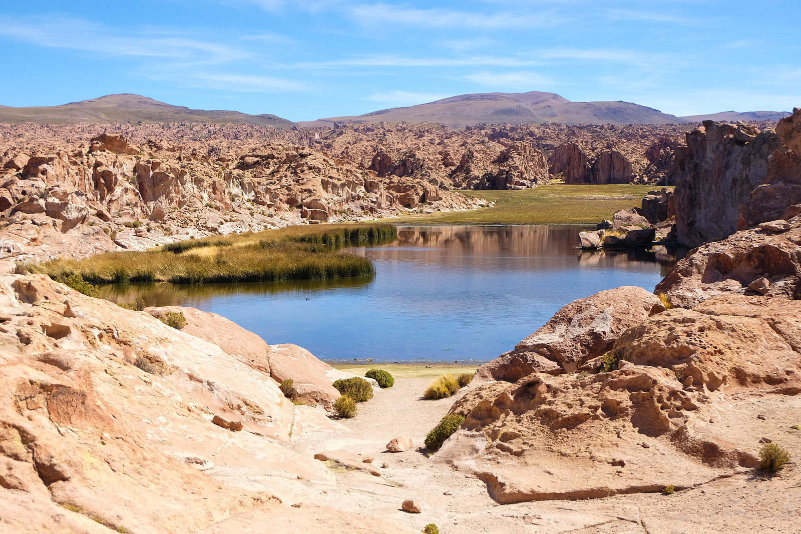 Valles de Rocas, Bolivia