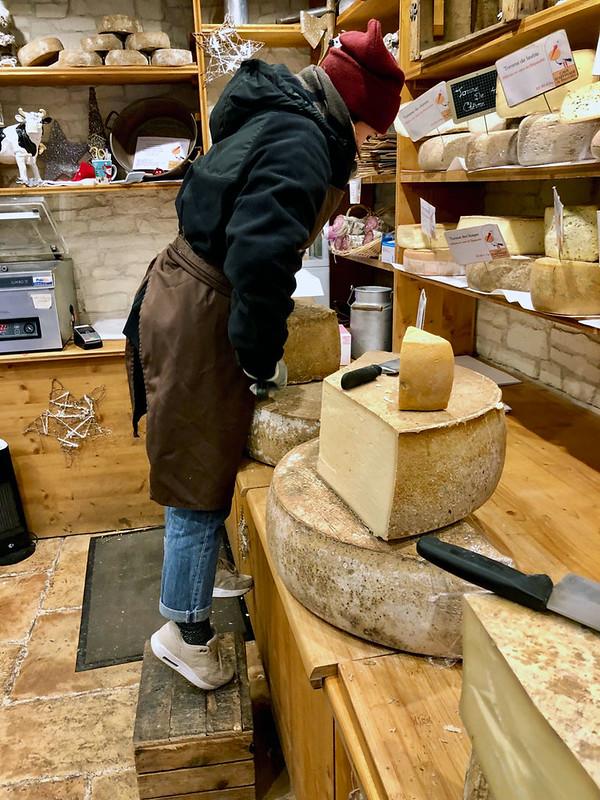 Strasbourg cheese market