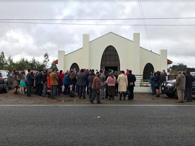 Inauguración Templo Anexo Punchema, Iglesia de Chanco