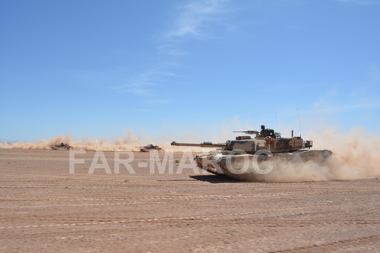 M1A1 SA ABRAMS Marocains / Moroccan M1A1 SA ABRAMS 40831560883_3b3bbdb929_o