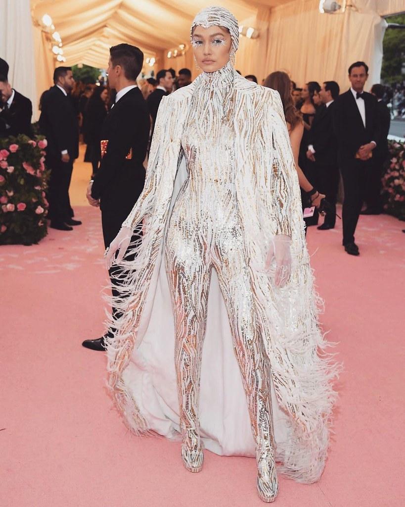 Джиджи Хадид на Met Gala 2019