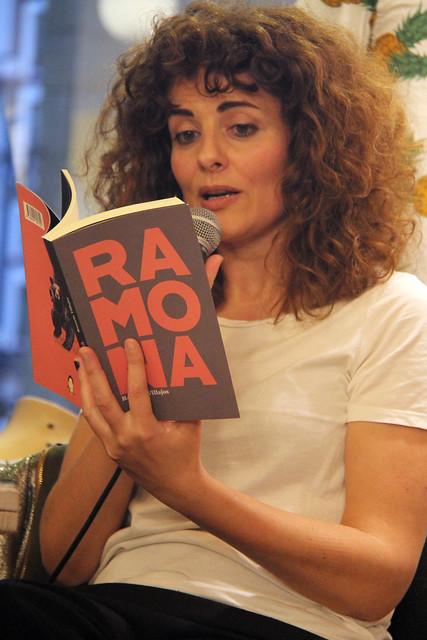 RAMONA - ROSARIO VILLAJOS - PRESENTACIÓN EN LEÓN - SPUTNIK LIBRERÍA CAFÉ - LEÓN 7.5.19