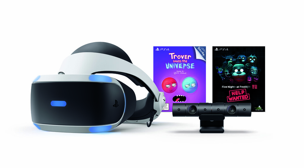 PS VR Bundle: Trover Saves the Universe & Five Nights at Freddy's