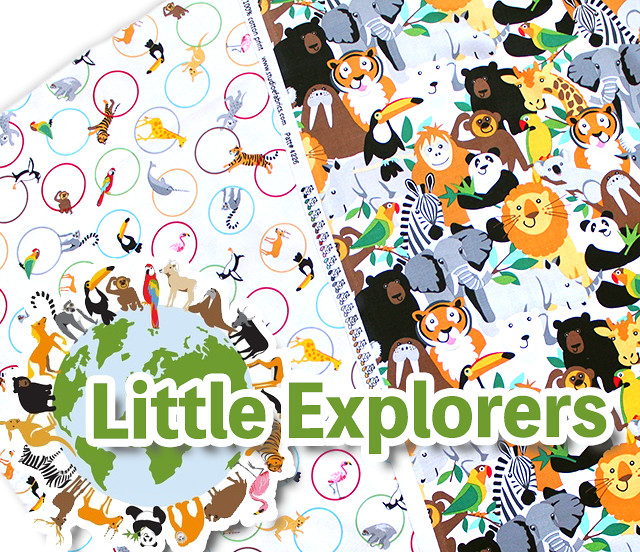 Studio E Fabrics Little Explorers